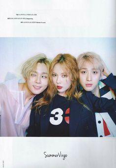 Hyuna, Hui & E-Dawn