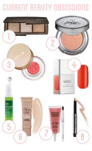 Makeup Monday: My Current Beauty Obsessions