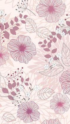 Fondos Whatsapp - Fushion News Flower Backgrounds, Flower Wallpaper, Pattern Wallpaper, Wallpaper Backgrounds, Cellphone Wallpaper, Lock Screen Wallpaper, Iphone Wallpaper, Art And Illustration, Illustrations