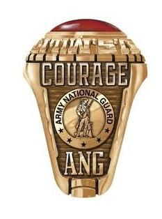 Customize this fantastic #Army National Guard Ring in a few easy steps. Gold Valadium $299.oo