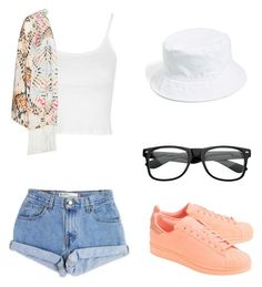 """""""Storybook 1"""" by pjprincess14 on Polyvore featuring Levi's, Topshop, Mat, adidas Originals and Amici Accessories"""