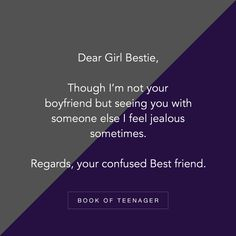 How To Stop Being Jealous Quotes Ideas Besties Quotes, Best Friend Quotes, Cute Quotes, Funny Quotes, Qoutes, Jealous Friends Quotes, Quotations, Teenager Quotes About Life, Best Friendship Quotes
