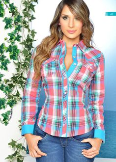 from GreenTop - Coleccion Casual Work Outfits, Work Attire, Work Casual, Rodeo Girls, Look Fashion, Womens Fashion, Fairytale Dress, Kurta Designs, Country Outfits