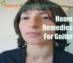 Natural cure for goiter