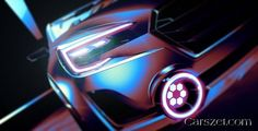 2018-2019 Subaru showed a teaser of the updated concept Viziv 2