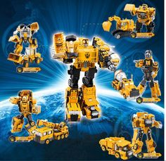 Deformation Toy 2 in 1 Metal Alloy Construction Vehicle Truck