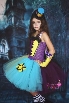 Sally inspired tutu costume from The by SofiasCoutureDesigns