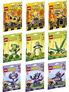 Any Lego Mixels from series 6 & 7 for N.