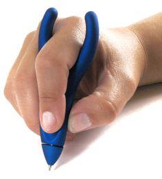Pain-free Ergonomic Pen http://stuffyoushouldhave.com/pain-free-ergonomic-pen/