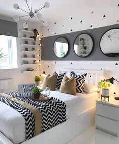 bedroom decor for small rooms & bedroom decor . bedroom decor for couples . bedroom decor ideas for women . bedroom decor for small rooms . bedroom decor ideas for couples Small Room Bedroom, Home Bedroom, Room Decor Bedroom, Master Bedrooms, 1920s Bedroom, Bedroom Girls, Bedroom Colors, Wooden Wall Bedroom, Small White Bedrooms