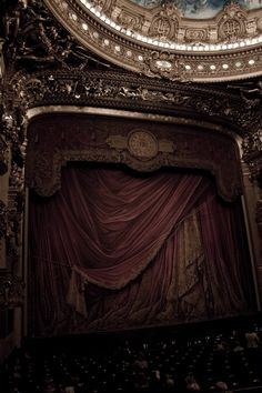 The Opéra Garnier in Paris. Can I perform here? Charles Garnier, Magic Places, What Is Digital, Ex Machina, Phantom Of The Opera, Abandoned Places, Derelict Places, Opera House, Beautiful Places