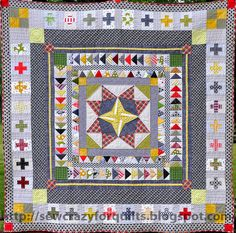 Marcelle Medallion- sew crazy | Flickr - Photo Sharing!
