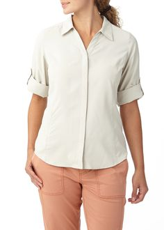 Expedition Stretch 3/4 Sleeve | Royal Robbins