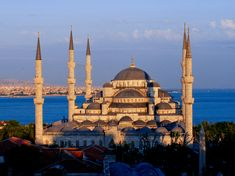 The_Blue_Mosque_at_sunset ! http://www.ilinktours.com/blog/what-is-a-mosque-or-masjid-in-islam/