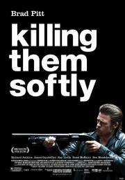 """Killing Them Softly        Killing Them Softly      Ubij ih nežno  Ocena:  6.20  Žanr:  Crime Thriller  """"In America you're on your own""""Boston  the fall of 2008. While the banking crisis grips national news two young slackers rob a high-stakes poker game. The local Mob attorney brings in Jackie to clean things up. He's a hit man who likes to kill his victims softly. There's a code at work: Jackie surmises that he has to kill Trattman even though he's innocent; then Jackie brings in Mickey…"""