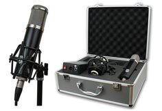 Lauten Audio LA-320  New Vacuum Tube Condenser Microphone For Project Studios And Bedroom Producers