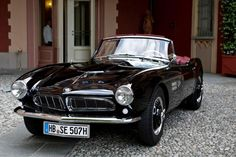 BMW 507 Roadster - 1958 I didn't even know this car existed and its beautiful! Bmw 507 Roadster, Retro Cars, Vintage Cars, My Dream Car, Dream Cars, Carros Retro, Automobile, Bmw Classic Cars, Cabriolet