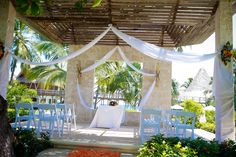 The gazebo can be a perfect wedding ceremony location for up to 50 guests! #ZoetryAgua