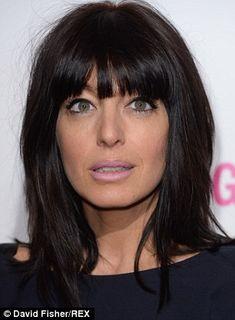 TV presenter Claudia Winkleman...