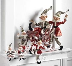 RAZ Christmas Sleigh - Trendy Tree Blog