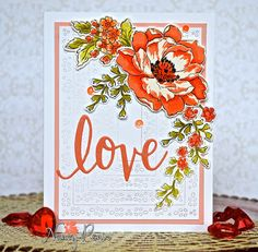 Hi there! The end of month means 12 Kits of Occasions and this month it's all about LOVE! Lindsey Larsen , sent us a wonderfu...