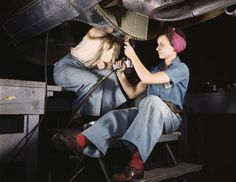 The Women Who Powered World War 2, All In Color