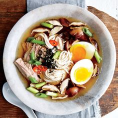 Slow Cooker Ramen Bowls - Slow-Cooker Soup Recipes - Cooking Light