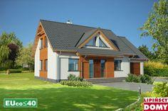 Lipińscy Domy Projekt: Wenecja II Energy Projects, Home Fashion, Cabin, House Styles, Home Decor, Cabins, Cottage, Interior Design, Home Interior Design