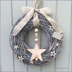 New Years Decorations, Christmas Decorations, Christmas Ornaments, Christmas Mood, Christmas 2017, Xmas Wreaths, Theme Noel, Scandinavian Christmas, Diy Wreath