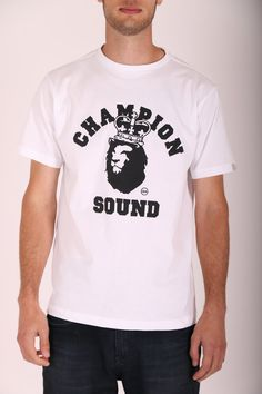 Image result for champion sound t shirt