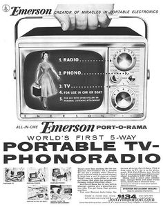Emerson, creator of miracles in portable electronics
