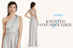 Versa Convertible Infinity Bridesmaid Dress In Lustrous Jersey Tutorial Infinity Dress Ways To Wear, Infinity Dress Styles, Infinity Gown, Infinity Dress Bridesmaid, Bridesmaid Dress Styles, Sexy Dresses, Fashion Dresses, Evening Dresses, Prom Dresses