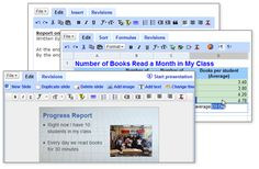 Google Docs FREE - Apps that students can use anywhere they can access the internet. Excellent for collaborating.