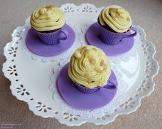 Caramel Macchiato Cupcakes Cupcake Cakes, Cupcakes, Step Cards, Card Making Tutorials, Cake Recipes, Caramel, Paper Crafts, Cookies, Desserts