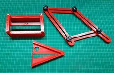 Estoy aprovechando el estado de excepción para sacar adelante montones de útiles para el taller. En este caso un trazador de líneas longitudinales un transportador de ángulos y un localizador de centros de circunferencia. . . . #3dprinted #instapic #prototipado #modelado3d #productmanufactoring #3dprints #3dmodeling #3dpintingindustry #prototipadorapido #prototipos  #3dprinter #3dprint #tools #impresion3d #fabricacionaditiva #proyectoscreativos #impresora3d #3dmodels #3ddesign #3dprinters…
