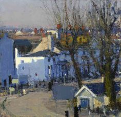Andrew Gifford Looking West from the studio I