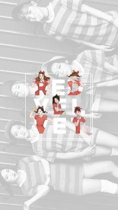 Square up- Jennie Seulgi, Red Velvet Ice Cream, Red Velvet Joy, Make Theme, Nct, Velvet Wallpaper, Red Valvet, Peek A Boo, Girl Bands