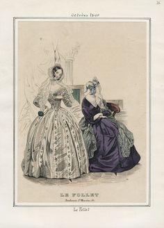 Le Follet October 1840 LAPL