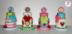 Cakes by Dusty: Mini Valentine's Day Cakes