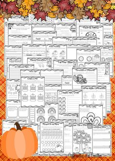 This fall ELA and Math unit has over 90 pages of no prep printables for the season! Apples, pumpkins, Halloween, Labor Day and Thanksgiving, it's all here! This unit is geared towards second graders, but can also be used for talented first graders or third graders who may be struggling a bit. This product is meant to be a time saver. Just print! VERY minimal cutting and gluing that students can easily do. Geared towards second grade. $