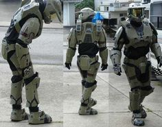 Build your own Halo suit of armor. Or anything your heart desires...