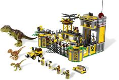 LEGO Dino is not just for little kids! Check out some great details that would also appeal to older LEGO fans! Lego Jurassic World, Dino Lego, Legos, Casa Lego, Lego Store, Lego Instructions, Toys R Us, Learning Toys, Panzer