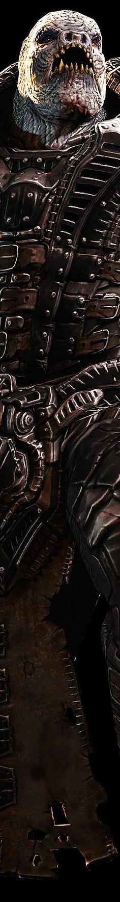 Gears of War: General RAAM. Toughest boss out of all the games combined.