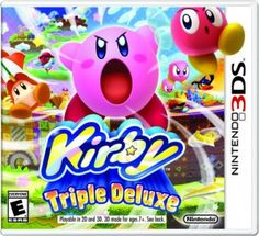 Kirby is my favorite iconic Nintendo character (partly because he's the only character I know how to control in Super Smash Bros. What's better than a pink, puffy, arm-and-legless creature who can fly AND steal… read Playstation, Xbox, Nintendo 3ds New, Nintendo Games, Kirby Nintendo, Super Nintendo, Nintendo Switch, Kid Icarus, Ds Xl