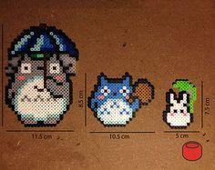 Totoro Perler Beads Magnet