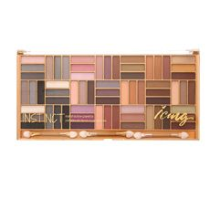 Instinct Color Block Mega Eyeshadow Palette- Includes 64 shimmery and matte shades along with three dual-ended sponge-tip applicators. $19.50