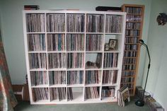 IKEA Bookshelves Ideas records | You'll hear Angel Trumpets and Devil Trombones...you are invited.
