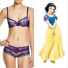Regal Disney Lingerie : underwear set