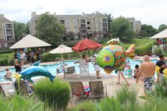 Caribbean Pool Party - July 2014