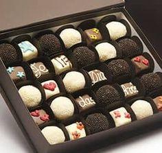 Chocolates personalizados para San Valentín. #Valentine